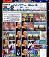 July Calendar 2015 Rosendale Theatre webbbb