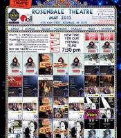 May 2015 Calendar Rosendale Theatre website