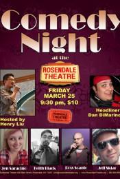 Comedy Showcase Night