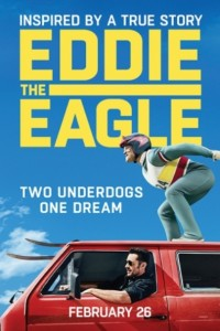 EDDIE THE EAGLE might be the feel-good movie of 2016…