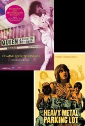 Music Fan Film Series: Queen: A Night in Bohemia & Heavy Metal Parking Lot