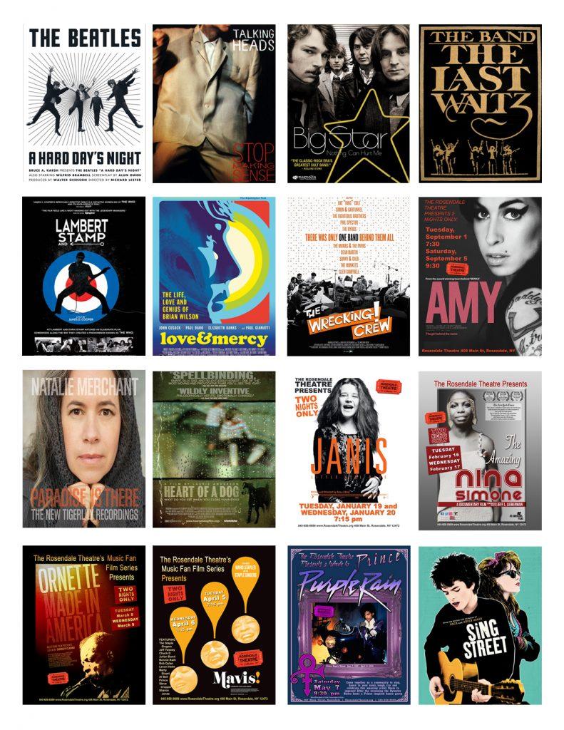 Films for website Music Fan Film Series