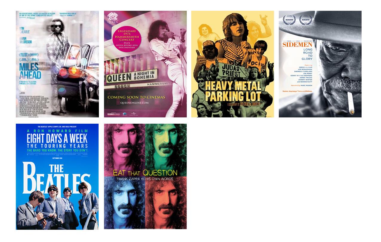 Films p 2 for website Music Fan Film Series