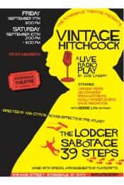 Vintage Hitchcock a live radio play