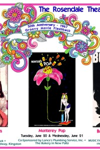 50th Anniversary – 1967 Groovy Movie Flashback in June